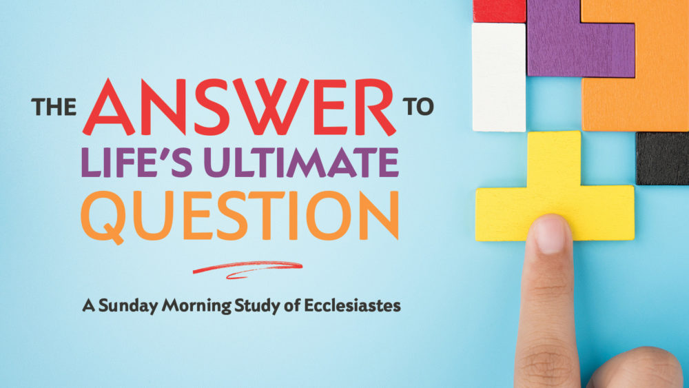 The Answer to Life\'s Ultimate Question